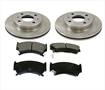 Front Drilled And Slotted Brake Rotors /& Ceramic Pads For Nissan 200Sx Sentra