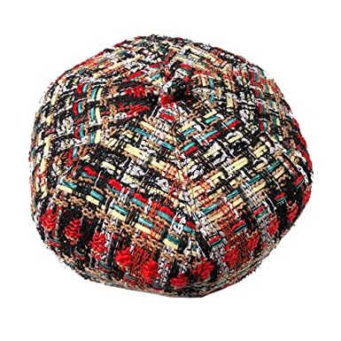 Fenical Cappello di Lana Lavorata a Maglia Autunno Inverno Wild Casual  Retro Art Painter Hat Cappello di Zucca Taglia M  Amazon.it  Abbigliamento db35cd6ece48