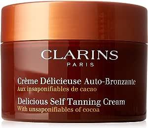 Clarins Delicious Self Tanning Cream by Clarins for Unisex - 5.3 oz Cream, 159 milliliters
