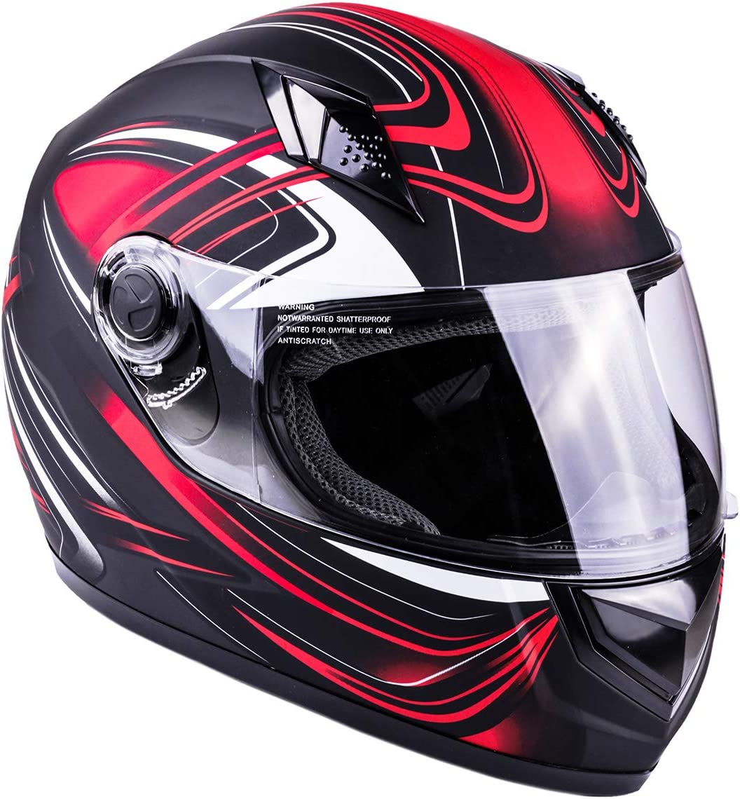 Typhoon Full Face Motorcycle Helmet}