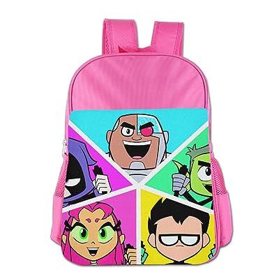 STALISHING Kid's Teen Titans Go Comedy Adventure School Bag Backpack durable service