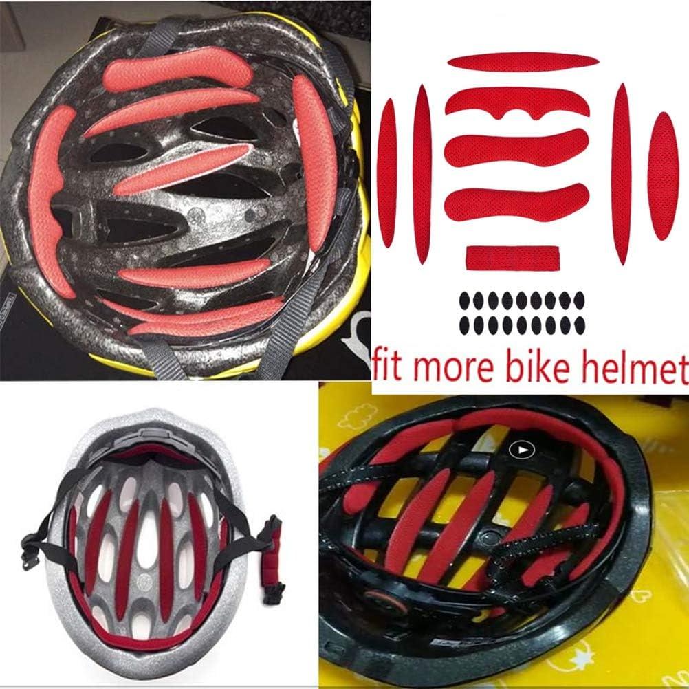 BraveWind 54 Pcs Helmet Padding Kit Bicycle Replacement Universal Foam Pads Set Universal Airsoft Helmet EVA Pads for Bike Motorcycle Cycling Helmet,2 Sets
