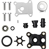 AUTOUTLET Impeller Water Pump Repair Kit for Johnson/Evinrude 394711 18-3327 9.9-15 HP Outboard Water Pump Kit with…