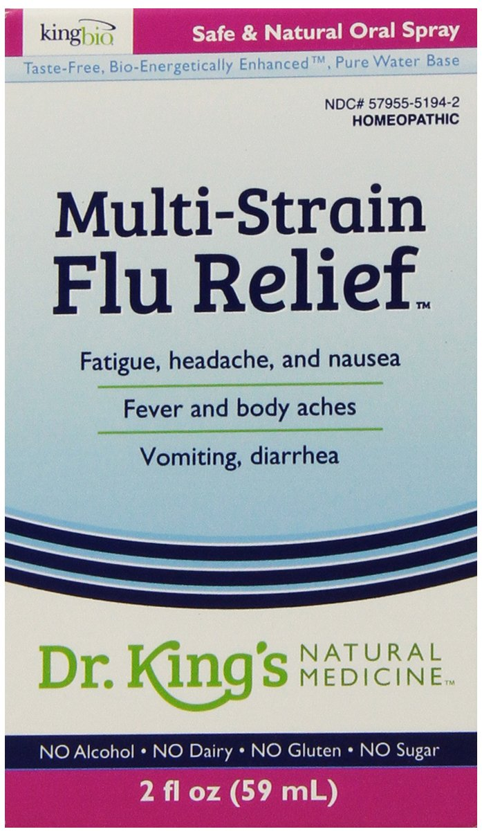 Dr. King's Natural Medicine Multi-Strain Flu Relief, 2 Fluid Ounce