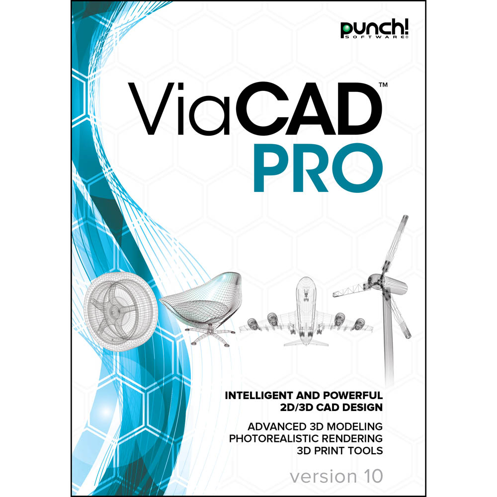 Punch! ViaCAD Pro v10 for Windows PC [Download] by Encore