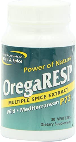 North American Herb and Spice, OregaRESP, 30 Vegi Caps