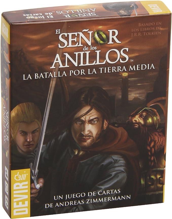 Devir - El señor de los Anillos, Juego de Cartas (BGANIMN): Amazon.es: Juguetes y juegos