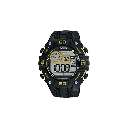Reloj Lorus r2347lx9 caja 45 mm Digital Hombre 4894138336409: Amazon.es: Relojes