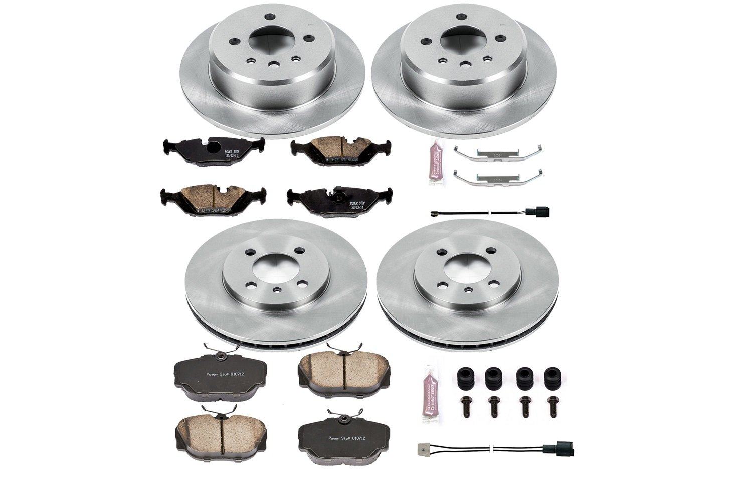 Autospecialty KOE4167 1-Click OE Replacement Brake Kit