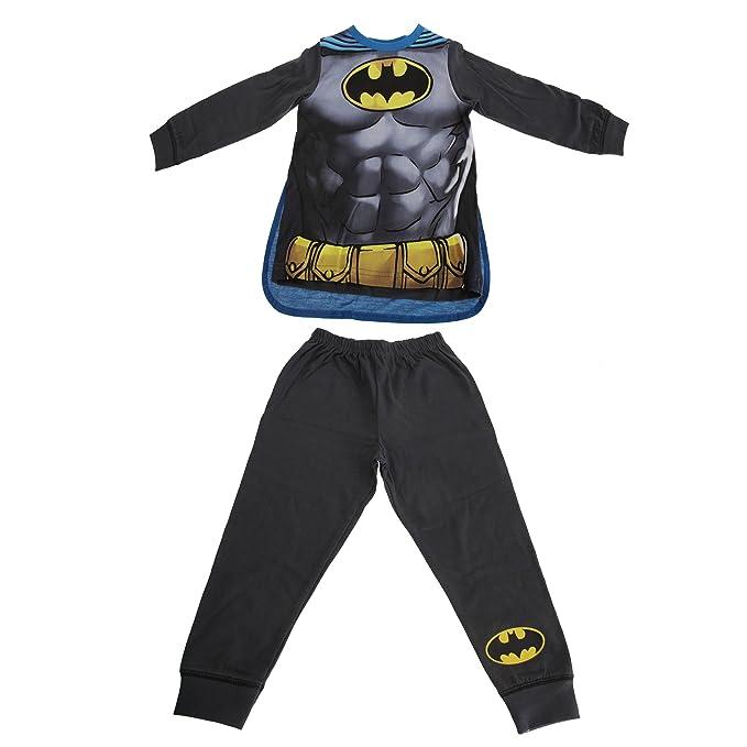 Batman - Pijama Capa para niño (2/3 años/Azul/carbón)