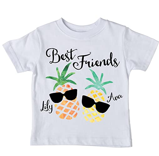 b0c319024 Amazon.com  Girl s Best Friends Shirt Set
