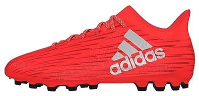 adidas Herren X 16.3 AG Fußballschuhe, Rot (Solar Red/Silver Met,/