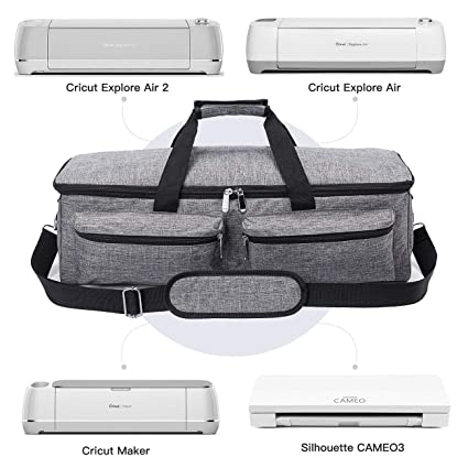 7c436ef24ecf Carrying Bag for Cricut Explore Air (Air 2), Cricut Maker and Silhouette  Cameo 3,Heavy Duty Tote Bag Compatible with Cricut Explore Accessories and  ...