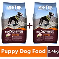 Meat Up Puppy Dog Food, 1.2 kg