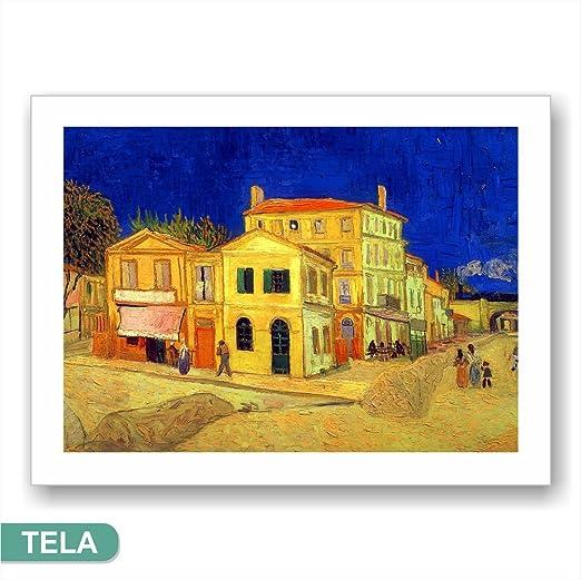Quadri L&C ITALIA Van Gogh la Maison Jaune - Impression sur ...
