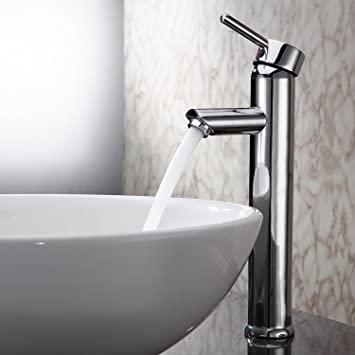 Sprinkle Single Handle Contemporary Bathroom Lavatory Vanity Vessel ...