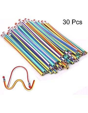 TaleeMall 30 Piezas Lápices Flexible,Lapiz Mágicos para Niños,Juguete para Fiestas de Cumpleaños