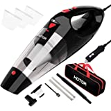 Car Vacuum Cleaner High Power, HOTOR Vacuum for Car, Best Car Vacuum, Handheld Portable Auto Vacuum Cleaner Powered by…