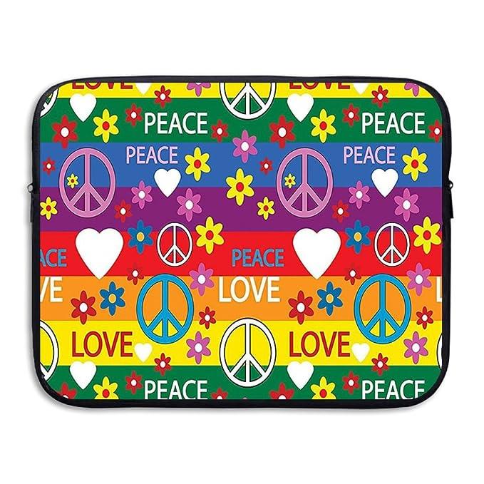 Amazon Xinshou Heart Peace Symbol Flower Power Political Hippie