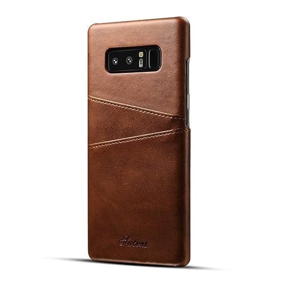 f77e56f3c3 Amazon.com  Fashioneey Galaxy Note 8 Leather Card Case