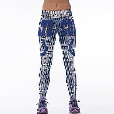 7TECH Women's Sports Digital Printed Leggings Running Yoga Pants Average Size #1155