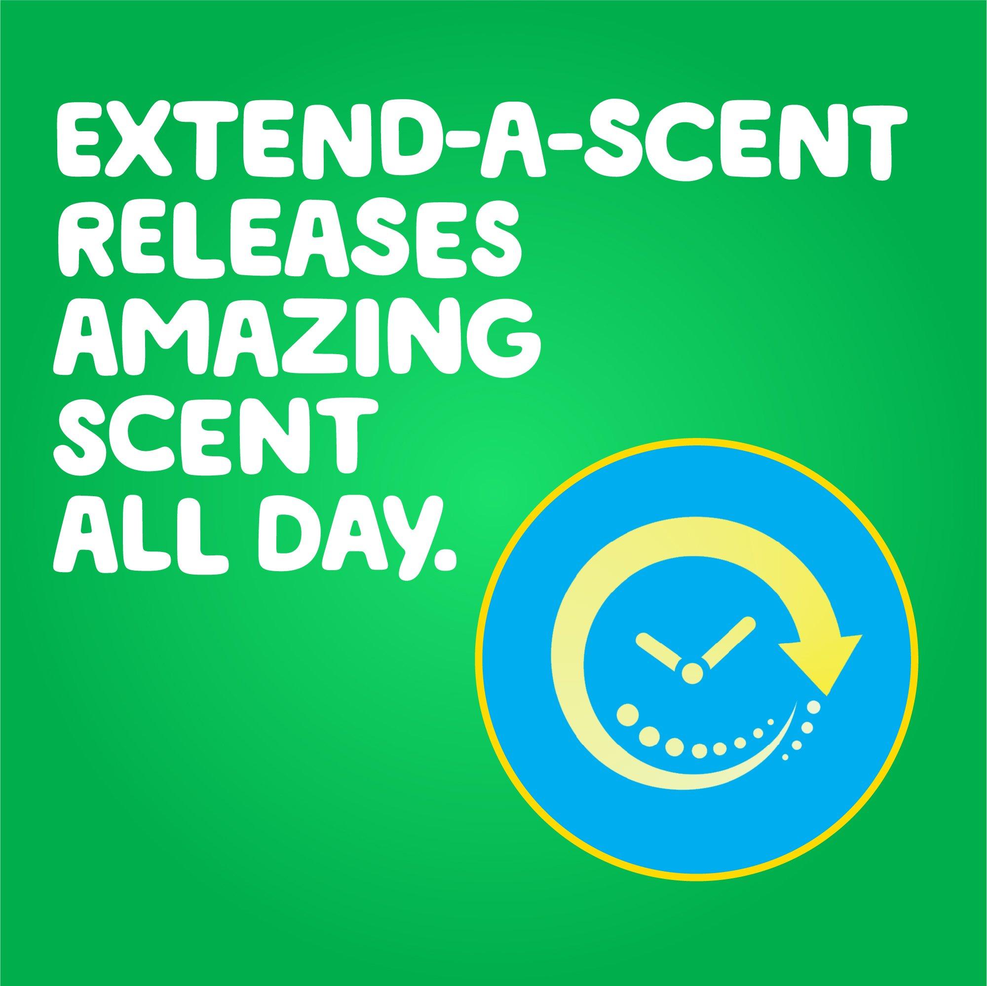 Gain flings! Liquid Laundry Detergent Pacs, Blissful Breeze, 96 Count by Gain (Image #4)