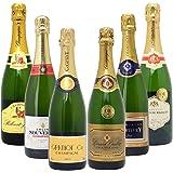 高コスパ・高品質シャンパン6本セット((W0CN04SE))(750mlx6本ワインセット)