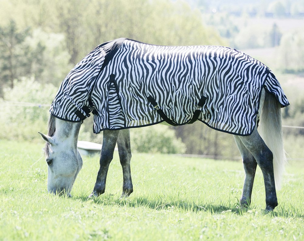 Horze Zebra Combo Fly Sheet 81In