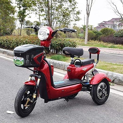 Adulto Scooter móvil eléctrico de Tres Ruedas Scooter Verde ...