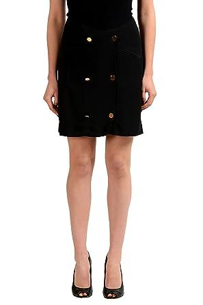 681a0d57e871 Maison Margiela 4 Wool Black Women's Straight Skirt US M IT 42 at ...