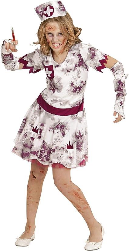 WIDMANN Disfraz Para Niños Zombie Enfermeras: Amazon.es: Juguetes ...