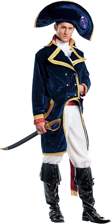 chiber Disfraces Disfraz Napoleón Bonaparte (M - Mediana): Amazon ...
