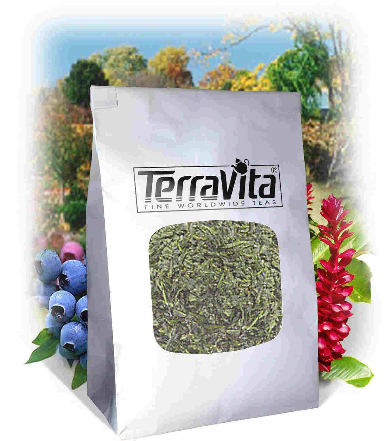 Peppermint Leaf (Certified Organic) Tea (Loose) (4 oz, ZIN: 518656) by TerraVita