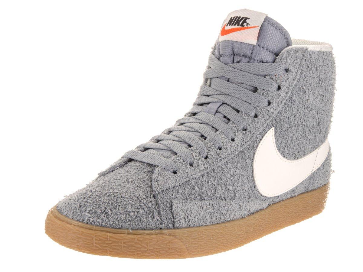 Nike Women's Blazer Mid Suede Vngt Stealth/Ivory Casual Shoe 7.5 Women US