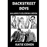 Backstreet Boys: An Adult Coloring Book