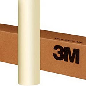 3M 1080 SP10 SATIN PEARL WHITE 5ft x 1ft (5 Sq/ft) Car Wrap Vinyl Film