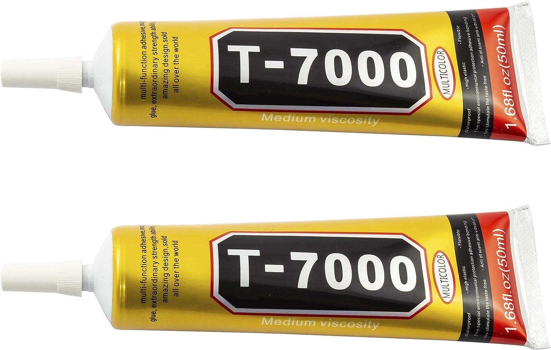 ZHANLIDA T7000 Pegamento Universal LCD Táctil para Pantallas, movil, Tablet (2X50ML)