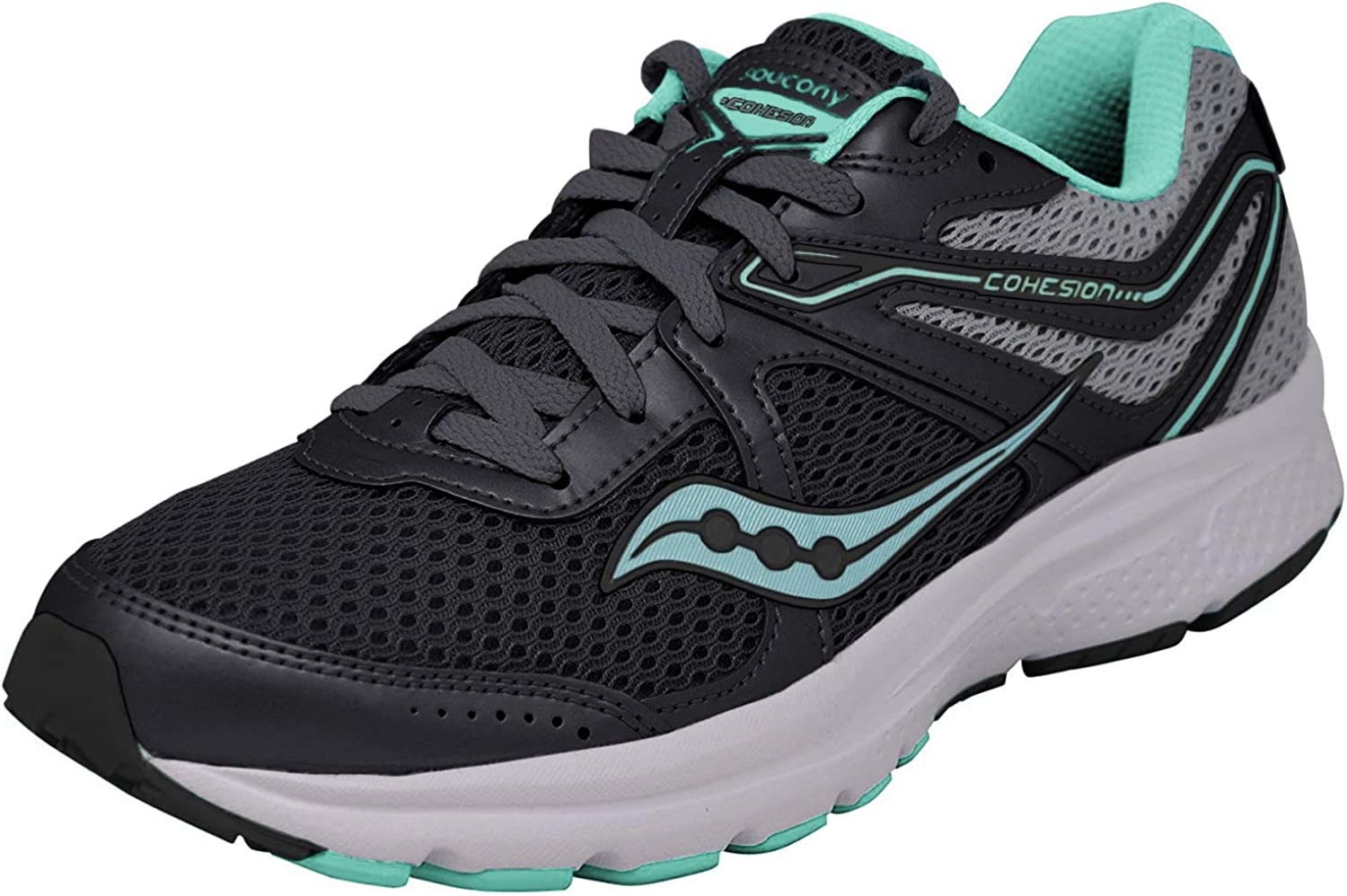 Saucony Mens Grid Cohesion 11 Running Shoes S10420 1 MSRP $60