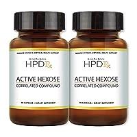HPD Rx Active Hexose Correlated Compound, 1100mg Shiitake Mushroom Supplement, Natural...