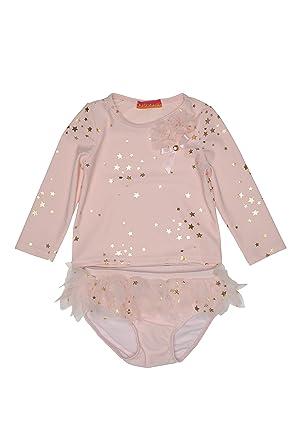 f477fd5056545 Amazon.com  Kate Mack Girl s 2-6X Fairy Dance Swim Rashguard ...