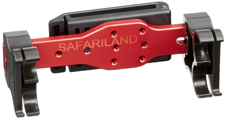Safariland 086 4 Fach Schrotpatronen Halter mit Gürtel-Clip, SL086-4-35-744BL