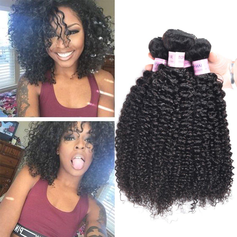 Amazon Top Hair Brazilian Kinky Curly Unprocessed Virgin Jerry
