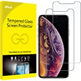 JETech Screen Protector for Apple iPhone XS and iPhone X, Case Friendly, Tempered Glass Film, 2-Pack