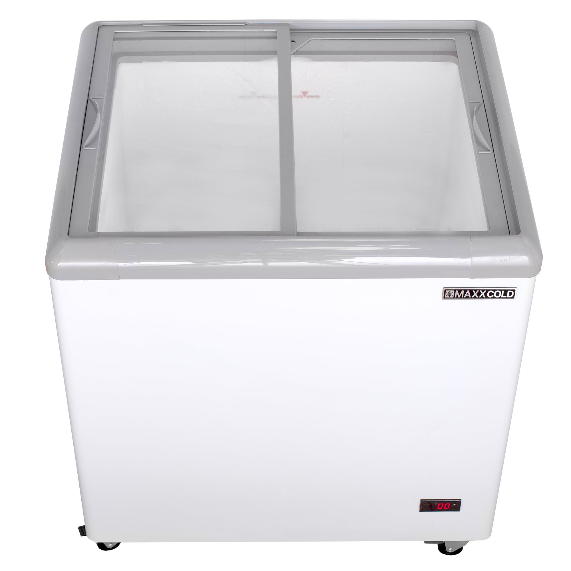 "Maxx Cold MXF31F 31"" 7.5 cu ft Commercial Mobile Ice Cream Display Freezer"
