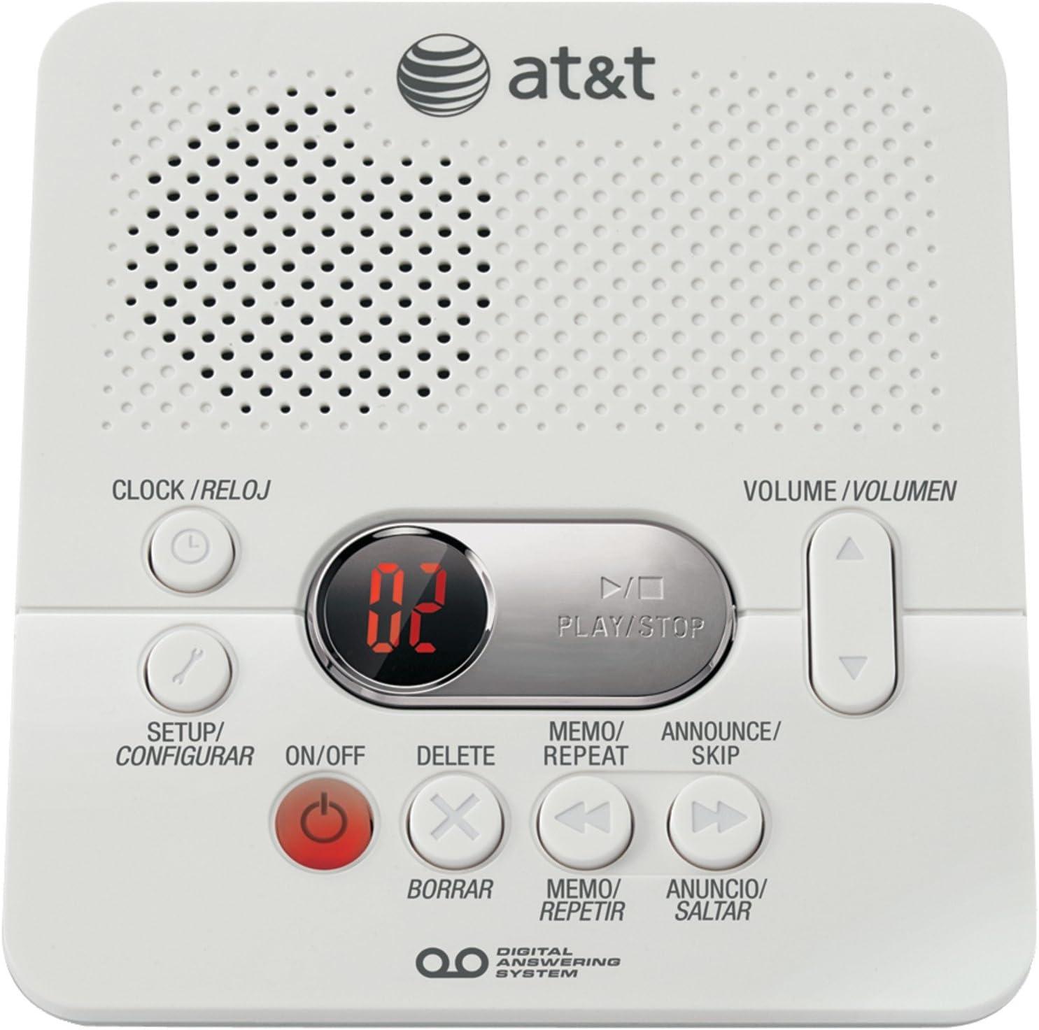 Atamp; T 1740 Digital Answering Machine : Electronics