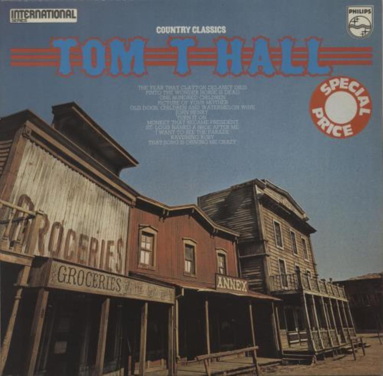 Tom T. Hall - Country Classics - Amazon.com Music