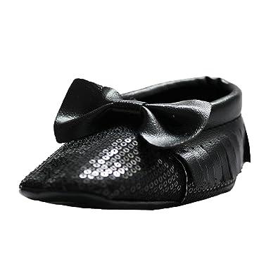 Abdc Kids Baby Girls Black First Walking Shoes