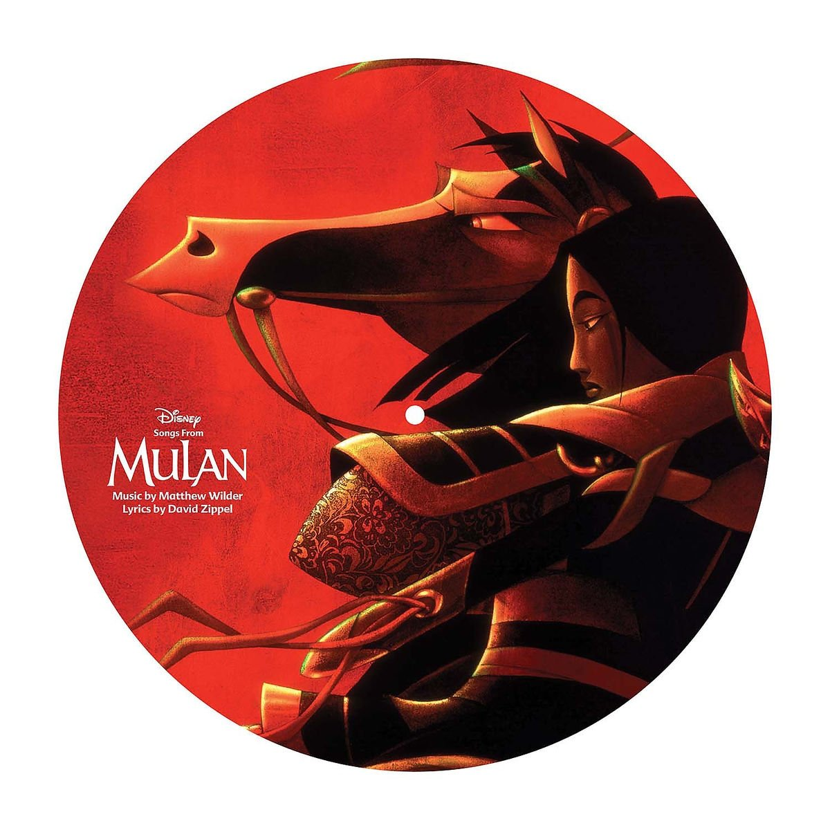 Songs From Mulan [LP][Picture Disc] by Walt Disney Records (Image #2)