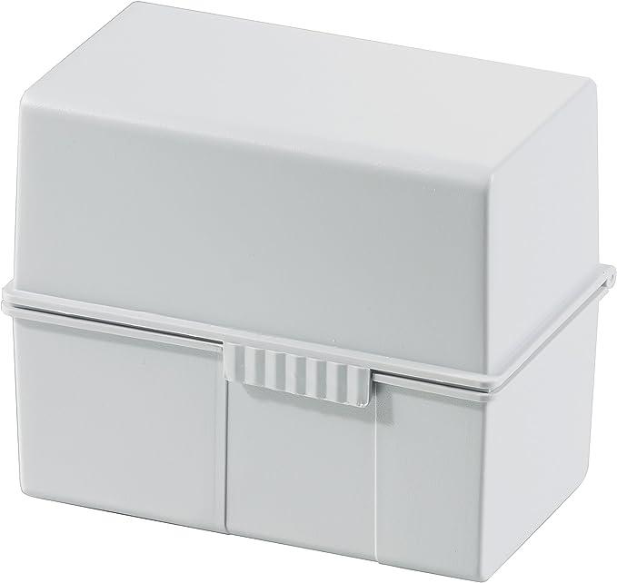 Han Multiservice - Archivador de fichas, gris: Amazon.es: Oficina y papelería