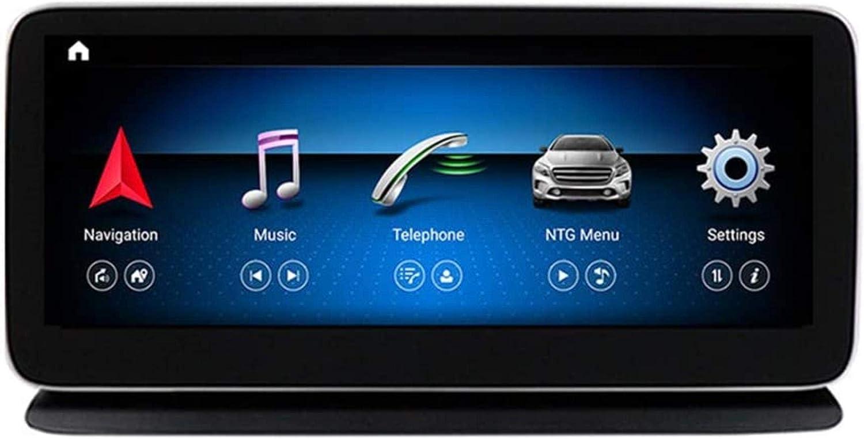 Estéreo Doble DIN Car conexión Bluetooth USB cinturón estéreo Digital de Radio de Radio Espejo Sygic GPS Navigation Tráfico Navigationdroid para Mercedes Benz Clase CLS W218 2011-2017, N2.